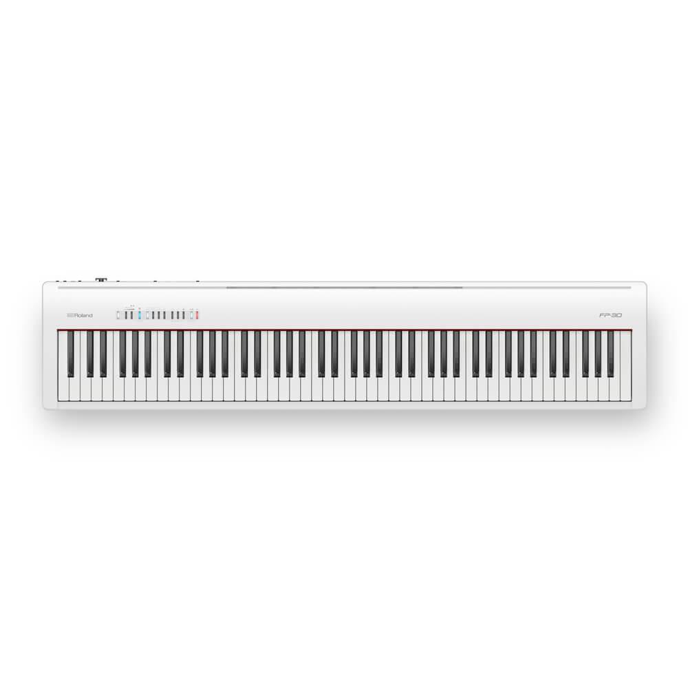 Roland Fp30 Digital Piano White Fp30wh Australian Piano Warehouse